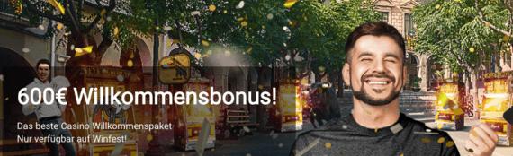 Winfest Bonus