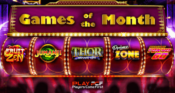 play pcf slots offer games